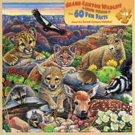 Grand Canyon Wildlife 48 Piece Wood Puzzle
