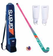 Grays/Cranbarry Combi Youth Field Hockey Package - SCUFFED