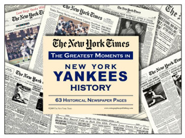 Greatest Moments in New York Yankees History Newspaper