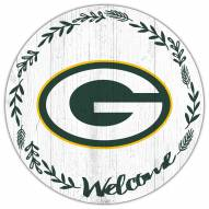 """Green Bay Packers 12"""" Welcome Circle Sign"""