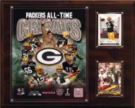 """Green Bay Packers 12"""" x 15"""" All-Time Great Plaque"""