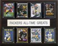 """Green Bay Packers 12"""" x 15"""" All-Time Greats Plaque"""