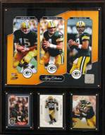 """Green Bay Packers 12"""" x 15"""" Legacy Collection Plaque"""