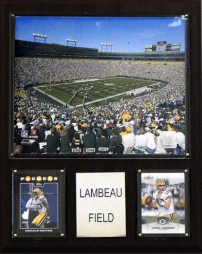 "Green Bay Packers 12"" x 15"" Stadium Plaque"