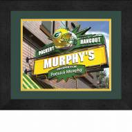 Green Bay Packers 13 x 16 Personalized Framed Sports Pub Print