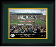 Green Bay Packers 13 x 16 Personalized Framed Stadium Print