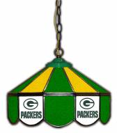 "Green Bay Packers 14"" Glass Pub Lamp"