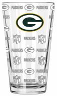 Green Bay Packers 16 oz. Sandblasted Pint Glass