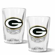Green Bay Packers 2 oz. Prism Shot Glass Set