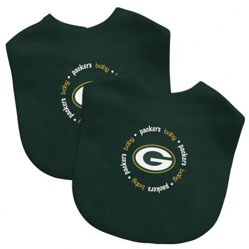 Green Bay Packers 2-Pack Baby Bibs