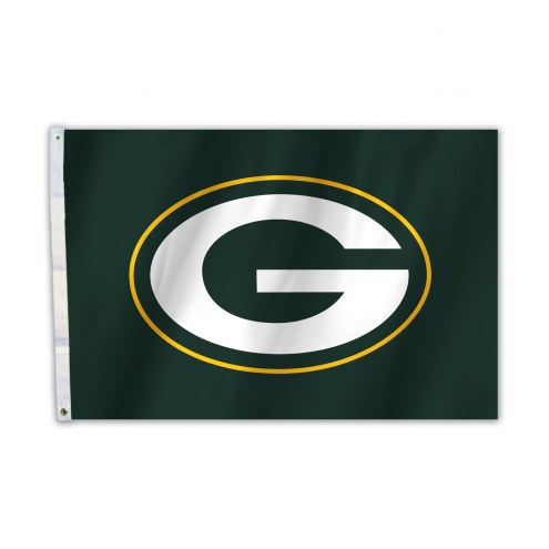Green Bay Packers 2' x 3' Logo Flag