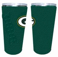 Green Bay Packers 20 oz. Stainless Steel Tumbler with Silicone Wrap