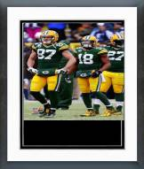 Green Bay Packers Playoff Action Framed Photo