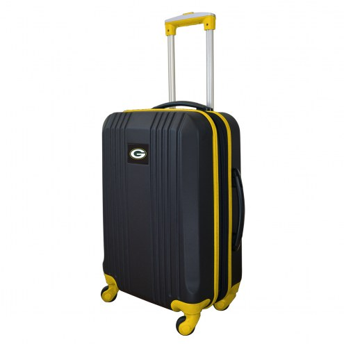 """Green Bay Packers 21"""" Hardcase Luggage Carry-on Spinner"""