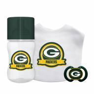 Green Bay Packers 3-Piece Baby Gift Set