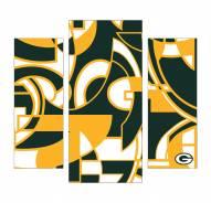 Green Bay Packers 3 Piece Wall Art
