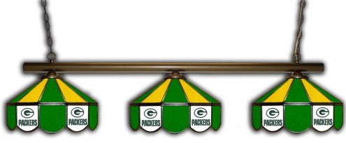 Green Bay Packers 3 Shade Pool Table Light