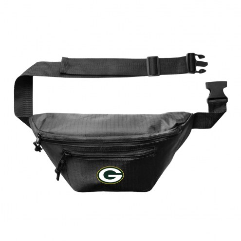 Green Bay Packers 3-Zip Hip Fanny Pack