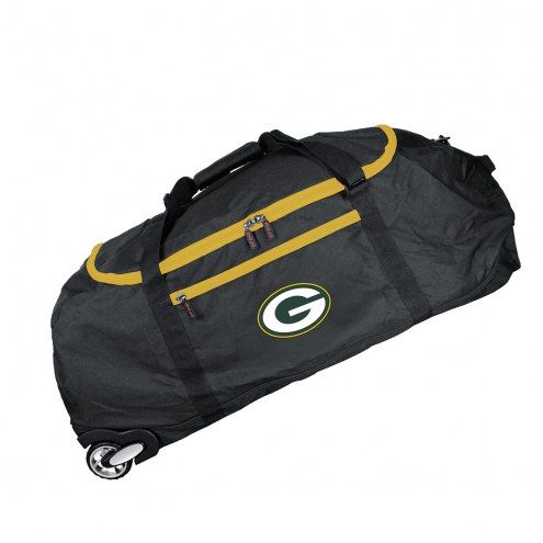 """Green Bay Packers 36"""" Checked-in Wheeled Duffel"""