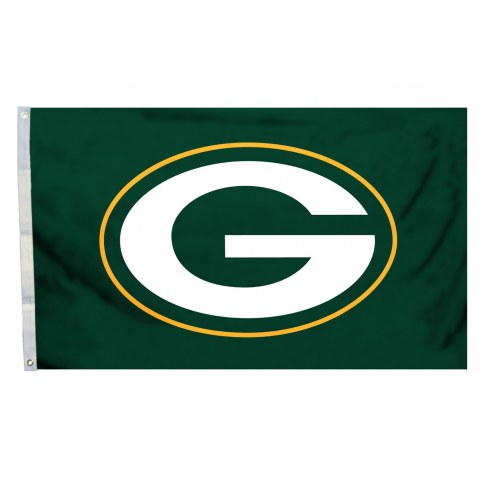 Green Bay Packers 4' x 6' Logo Flag