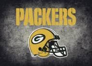 Green Bay Packers 4' x 6' NFL Distressed Area Rug