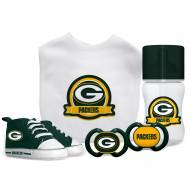 Green Bay Packers 5-Piece Baby Gift Set