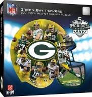 Green Bay Packers 500 Piece Helmet Shaped Puzzle
