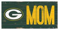 """Green Bay Packers 6"""" x 12"""" Mom Sign"""