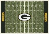 Green Bay Packers 6' x 8' NFL Home Field Area Rug