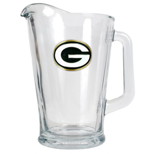 Green Bay Packers 60 Oz. Glass Pitcher - Primary Logo