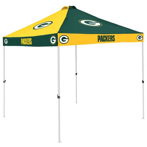 Green Bay Packers 9' x 9' Checkerboard Tailgate Canopy Tent