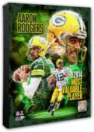 Green Bay Packers Aaron Rodgers 2014 NFL MVP Composite Photo