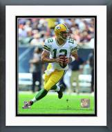 Green Bay Packers Aaron Rodgers Action Framed Photo