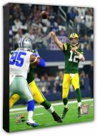 Green Bay Packers Aaron Rodgers 2016 NFC Divisional Playoff Game Photo