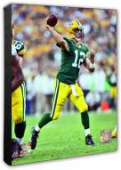 Green Bay Packers Aaron Rodgers Action Photo