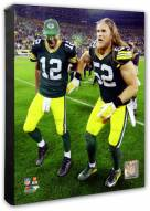 Green Bay Packers Aaron Rodgers & Clay Matthews Photo