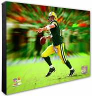 Green Bay Packers Aaron Rodgers Motion Blast Photo