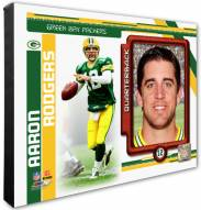 Green Bay Packers Aaron Rodgers Studio Plus Photo