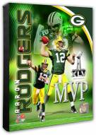 Green Bay Packers Aaron Rodgers Super Bowl XLV MVP Portrait Plus Photo