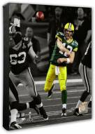 Green Bay Packers Aaron Rodgers Super Bowl XLV Spotlight Action Photo