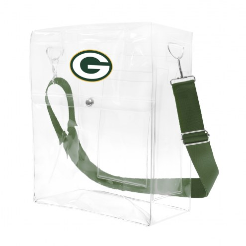 Green Bay Packers Clear Ticket Satchel