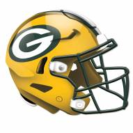 Green Bay Packers Authentic Helmet Cutout Sign