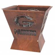 "Green Bay Packers Badlands 29.5"" Square Fire Pit"