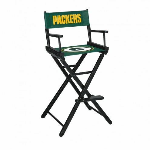 Green Bay Packers Bar Height Director's Chair