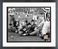 Green Bay Packers Bart Starr 1967 Ice Bowl Touchdown Framed Photo
