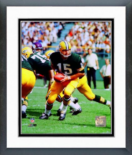 Green Bay Packers Bart Starr Action Framed Photo