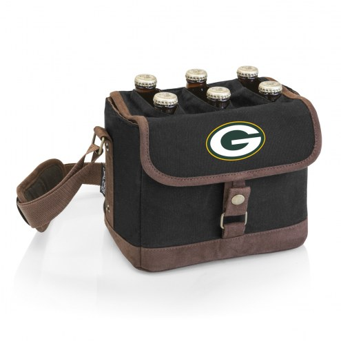 Green Bay Packers Beer Caddy Cooler Tote with Opener