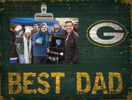 Green Bay Packers Best Dad Clip Frame