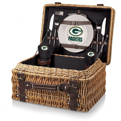 Green Bay Packers Black Champion Picnic Basket