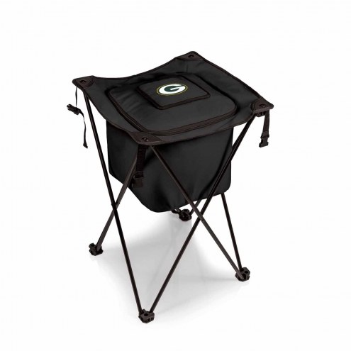 Green Bay Packers Black Sidekick Portable Cooler